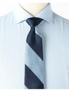 Silk Stripe Tie AF0351-91 91-44-0355-380: Saxe