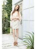 【SALE/57%OFF】MIIA カラー刺繍タイトスカート ミーア スカート【RBA_S】【RBA_E】
