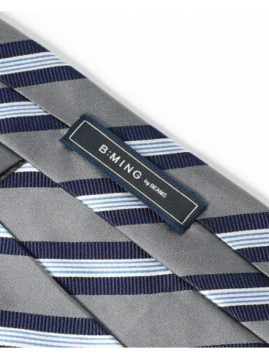 Silk Stripe Tie AF0352-91 91-44-0356-380: Grey