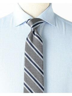 Silk Stripe Tie AF0352-91 91-44-0356-380: Charcoal