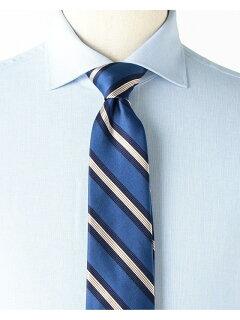 Silk Stripe Tie AF0352-91 91-44-0356-380: Blue