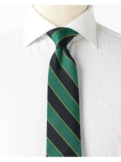 Silk Stripe Tie AF0353-91 91-44-0357-380: Olive