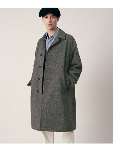 Freemans Sporting Club JP Tweed Overcoat UF86-17B003
