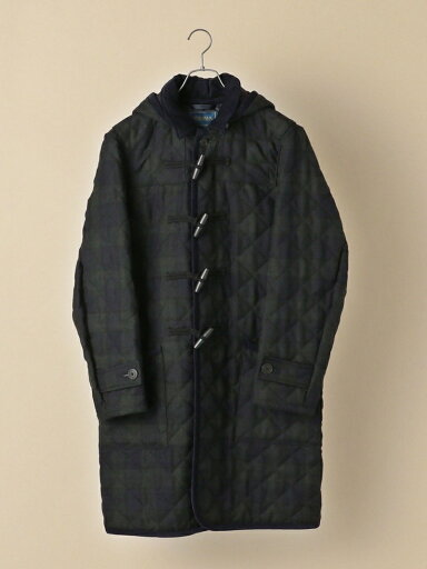 Ships x Lavenham Wool Quilted Duffle Coat 114-65-0121