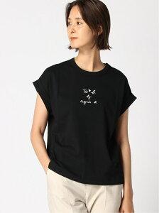 【SALE/20%OFF】To b. by agnes b. To b. by agnes b./(W)W984 Tシャツ アニエスベー カットソー Tシャツ ブラック ホワイト ブラウン【送料無料】