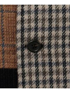 J. Press Crazy Pattern Saddle Vest KROVYW0407: Navy