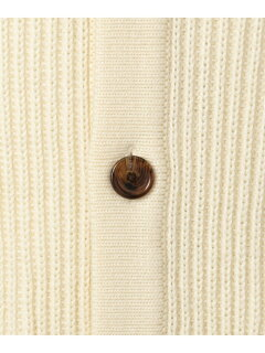 J. Press Lomas Wool Mockneck Cardigan KROVYW0414: Ivory