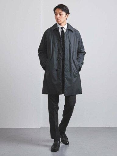 Padded Raglan Coat 1125-199-7241: Dark Grey