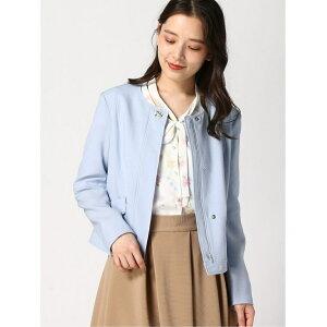 LAISSE PASSE衬里蕾丝外套, Lesse Passe外套/夹克外套, 蓝粉红色[免费送货]