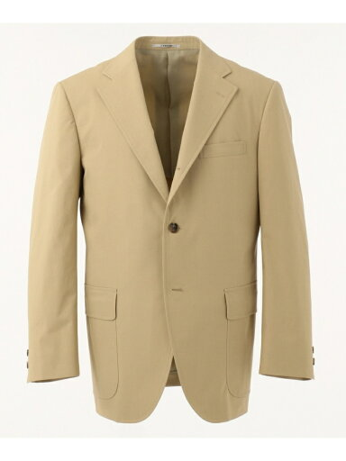 J. Press Cotton Polyester Poplin Sack Sportcoat JKOVKM0008: Beige