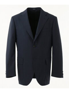 J. Press Cotton Polyester Poplin Sack Sportcoat JKOVKM0008: Navy