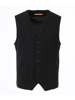 J. Press Riviera Slim Cotton Knit Waistcoat VROVKM0211: Grey