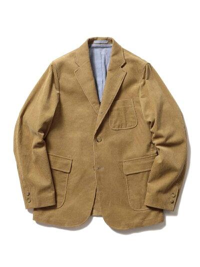 Corduroy Sack Sport Coat 11-16-1165-803: Beige