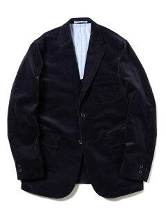 Corduroy Sack Sport Coat 11-16-1165-803: Navy