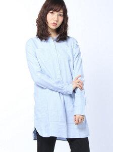【SALE/80%OFF】GIORDANO (L)ネルチュニックシャツ ジョルダ…