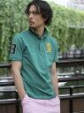 【SALE/10%OFF】GIORDANO (M)3Dライオンシシュウポロシャツ ジョルダーノ カットソー【RBA_S】【RBA_E】