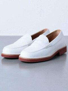 Buck Loafer 1331-343-8410: White