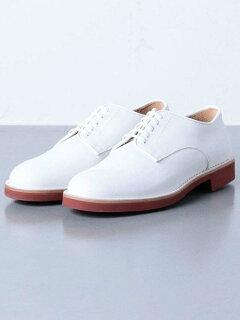 Buck Plain Toe Oxford 1331-343-8411: White