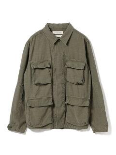 Military Shirt Jacket 11-18-3892-671: Olive
