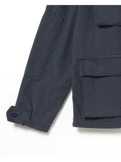 Military Shirt Jacket 11-18-3892-671: Navy