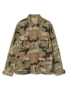 Military Shirt Jacket 11-18-3892-671: Camo