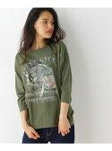 【SALE/10%OFF】オオカミプリントTシャツ オゾック カットソー【RBA_S】【RBA_E】