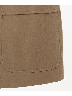 Comfort Dress West Point Sports Sack Blazer BZOVIA0271: Beige