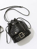 【SALE/10%OFF】beautiful people *shrink leather drawstring bag ビューティフル ピープル バッグ【RBA_S】【RBA_E】【送料無料】