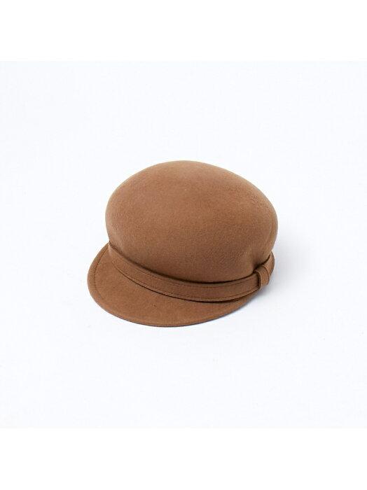 【SALE/50%OFF】collex 【Cloods】ウールリボンキャス コレックス 帽子/ヘア小物 ハット ベージュ ブラック