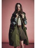 【SALE/50%OFF】beautiful people pe.twill patchwork big mods coat ビューティフル ピープル コート/ジャケット【RBA_S】【RBA_E】【送料無料】