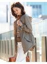 Demi-Luxe BEAMS TATRAS / 別注 CRIDOLA ナイロンモッズコート デミルクス ビームス コート/ジャケット ブルゾン ベージュ ブラック【..