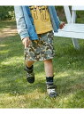 【SALE/50%OFF】HusHusH(Kids) 【おそろい】スーパーストレッチ台形カーゴスカート ハッシュアッシュ スカート【RBA_S】【RBA_E】