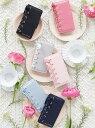 Maison de FLEUR ブランドロゴレースアップiPhone7/8ケース メゾン ド フルール バッグ