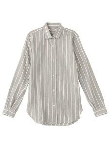 【送料無料】DRESSTERIOR CANGIOLIストライプシャツ ドレステリア シャツ/ブ…