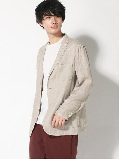 Linen 3-button Sport Coat 11161572887: Natural