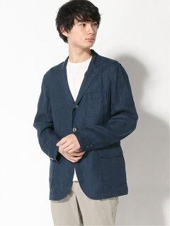 Linen 3-button Sport Coat 11161572887: Navy
