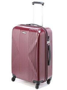 【SALE/37%OFF】ワールドトラベラー/クリアウォーター スーツケース ジッパータイプ 5〜6泊程度の旅行に サイレントキャスター搭載 60リットル 04063 エースバッグ【RBA_S】【RBA_E】【送