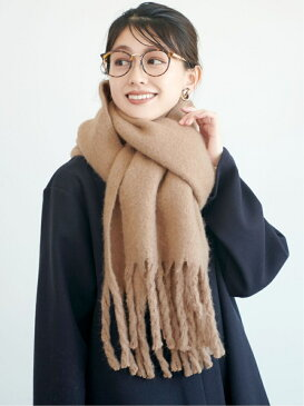 ふわふわ起毛ロング丈マフラー コカ ファッショングッズ