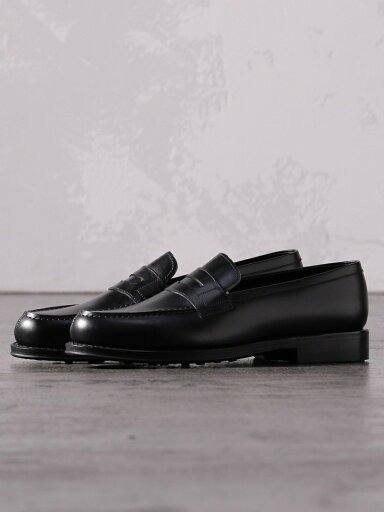 Penny Loafers 51-32-0066-232: Black