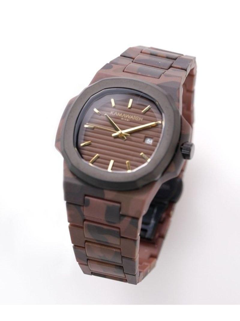 腕時計, その他 SALE30OFFKAMAWATCH BrownBeige Camo