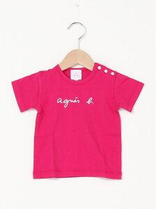 【SALE/30%OFF】agnes b. ENFANT agnes b. ENFANT/(K)S137 ベビー ロゴTシャツ アニエスベー カットソー キッズカットソー ピンク ブルー カーキ