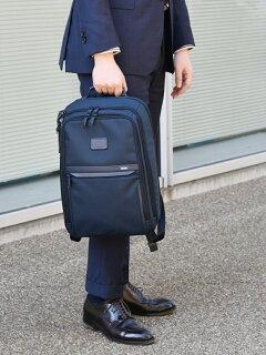 Slim Backpack 118-43-3334: Navy