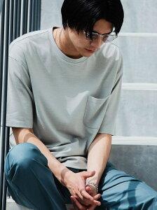 【SALE/50%OFF】UNITED ARROWS green label relaxing 【さまになるTシャツ】< 機能 / 吸水速乾 > ドライ ウールミックス クルーネック Tシャツ # ユナイテッドアローズ グリーンレーベルリラクシング カットソー Tシャツ ブラウン ホワイト ブラック グレー