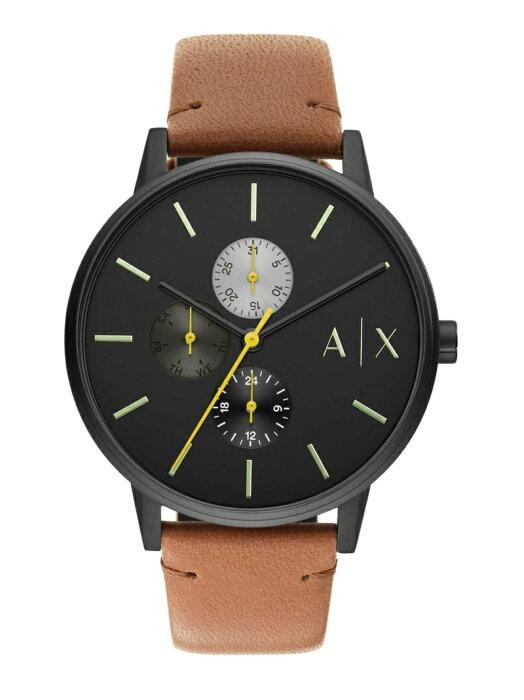 A|X ARMANI EXCHANGE A|X ARMANI EXCHANGE/(M)CAYDE_AX2723 ウォッチステーションインターナショナル ファッショングッズ 腕時計 ブラック【送料無料】