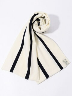 Wool Scarf: White