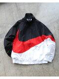 【SALE/30%OFF】BEAMS MEN NIKE / Big Swoosh Jacket ビームス メン コート/ジャケット ブルゾン ブラック【送料無料】