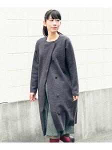 【o1te0r】かぐれ レディース コート/ジャケット カグレ【送料無料】かぐれ 圧縮ウールのコート...