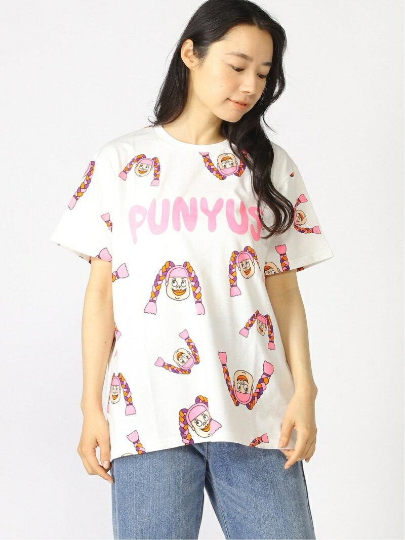 トップス, Tシャツ・カットソー PUNYUS (W)NAOMIT T