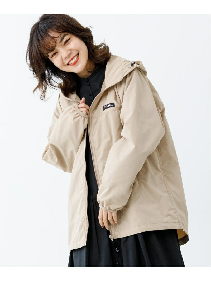 レディースファッション, コート・ジャケット SALE50OFFMILKFED. BASIC HOODED ZIP JACKET