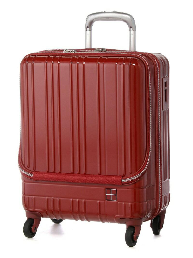 ライトスーツケース 【送料無料】 hands+/ トウキュウハンズ フロントオープンタイプ hands+ ミッドナイトブルー 38L バッグ
